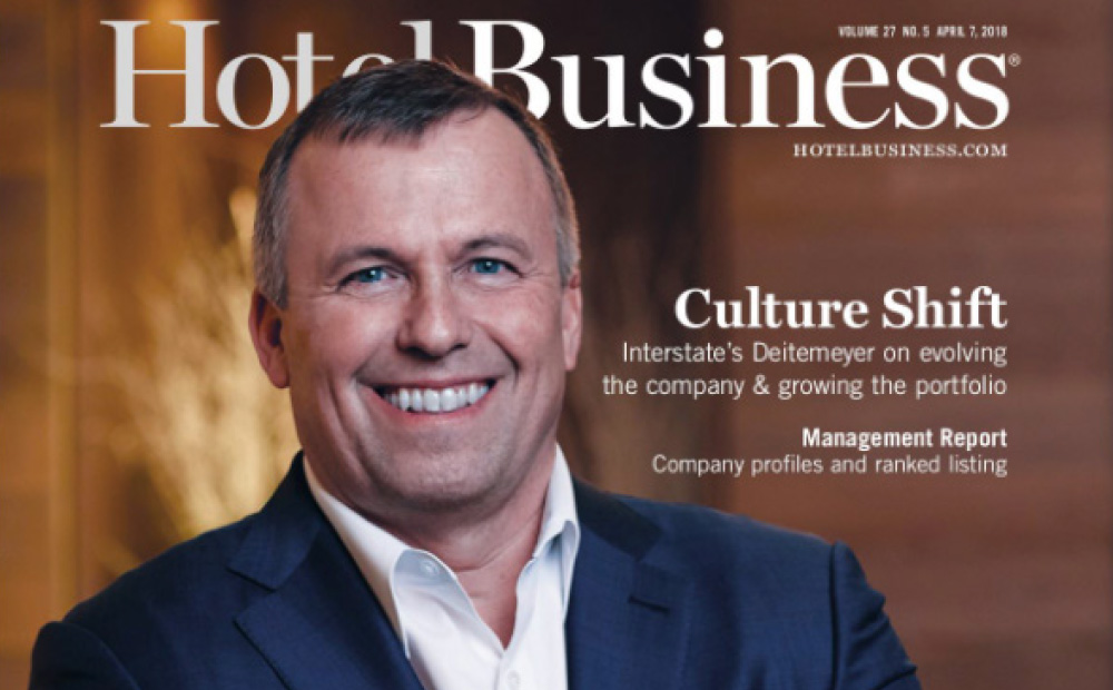 Hotel Business: Interstate's new CEO discusses his theory of evolution and what makes a best-in-class portfolio